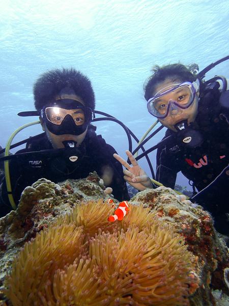 Discover Scuba Dives in Nagura Bay☆