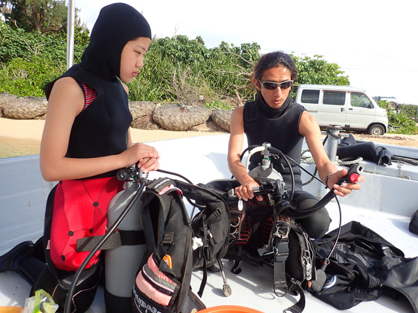 Open Water Course☆ and Fun Diving☆